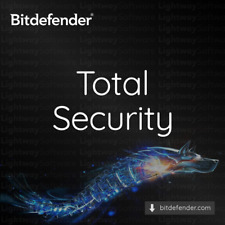 Bitdefender Total Security 2020 - 1 year for 5 devices (Code Key)