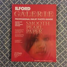 Ilford Galerie Professional Inkjet Photo Range Smooth Pearl Paper 25 Sheets