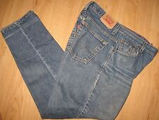 "LEVI'S 550 - RELAXED TAPERED - SZ 10 M  - BLUE DENIM JEANS -  W31"" X 31""L"