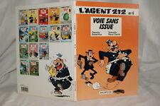 L'AGENT 212 N°4-VOIE SANS ISSUE-KOX CAUVIN 1993