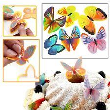 Essbare Tortendeko-Schmetterlinge, 12er Pack, tolle Kuchendeko