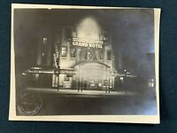 Vintage Photo, New Hippodrome Cinema, Altrincham 1932, Grand Hotel Showing, RF2