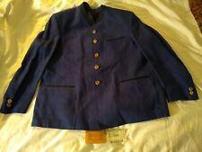 NWT LODENFREY / BLUE ~ LINEN Austria Men Janker JACKET Coat / 25 - 40