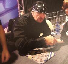 WWE Bestatter umnd 27 Autogramm signiert XXVII Offizielles Programm in Person