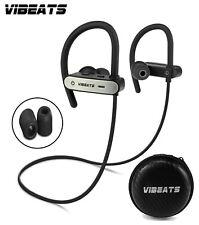 VIBEATS Bluetooth Wireless Headphones Sport Running Earphones IPX 7 Waterproof