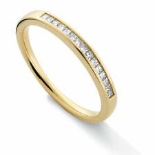 Anniversary Eternity Yellow Gold Fine Diamond Rings