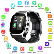 Bluetooth Smart Watch with Camera Pedometer Phone Mate SIM FM For Android IOS