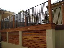 AS Cerified Aluminium Black Flat Top Pool Fence /Fencing, Garden fencing