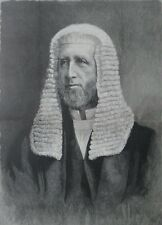 1886 Large Antique Engraving - Arthur Peel M.P.- Speaker of the House of Commons
