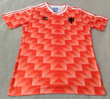 Netherlands/Holland 1988 Classic Retro Home Jersey Van Basten 12 Size XL