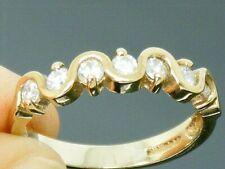9ct Gold 0.50ct  Diamond Eternity Ring size O