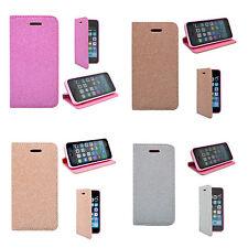 Pour Apple Iphone 6/6S en Paillettes Livre de Portefeuille Rabattable
