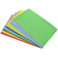DIY Craft Handmade 10Pcs EVA Foam A4 Multicolor Kids Thick Paper Sheets Sponge