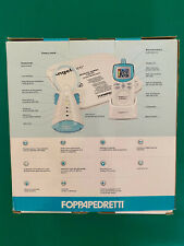 Foppapedretti Angelcare AC401 Monitor per Ascoltare Bambino - Bianco/Blu