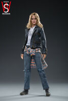 SWTOYS 1/6 Captain Marvel Female Casual Suit Action Figure FS028 Collectible Toy