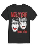 Global Mens T-Shirt Black Red Size Large L Motley Crue Graphic Tee Crewneck 112