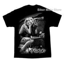 Herren-T-Shirts aus Baumwolle in Größe 2XL fürs Motorrad
