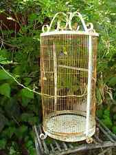 Vintage Metal Birdcage Bird Cage Large French Cottage Wedding Farm Decor Rusty