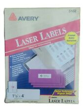 Avery 5162 Laser White Address Labels 1 13 X 4 1400 Labels 100 Sheets New