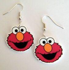 New Sesame Street ELMO Earrings
