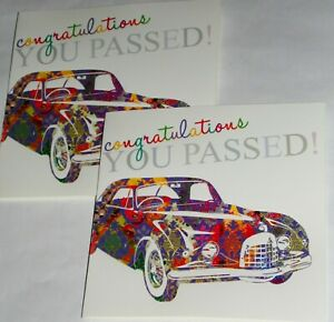 """RETIRMENT  CARDS X 12, JUST 29p SUPERB QUALITY 6"""" SQUARE, GREAT VALUE"""
