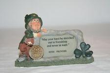 "Declan's Finnians Blarney Stone 44467 ""Hand Plaque"" Ireland Figurine"