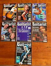x 7 Guitarist Magazines Bundle 2000 - Fender vs Fender etc