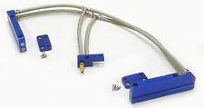 OBX Blue Aluminum Fuel Injection Rail Fit 2002 03 04 2005 Impreza WRX 2.0L EJ20T