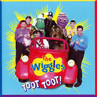 THE WIGGLES Toot Toot! CD BRAND NEW ABC For Kids