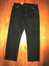Men's Dickies Black 5 Pocket Regular Fit Straight Leg Jeans 40 X 34 NWT