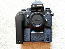 Nikon F3 HP 35mm SLR Film Cameras body only w/MD-4 Motor Drive Winder
