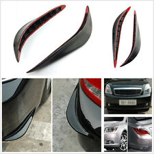 2 Pcs Soft Plastic Auto SUV Bumper Corner Anti-Rub Protective Decoration Strips