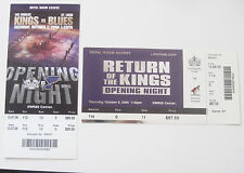 2005 & 06--LA KINGS-OPENING NIGHT v. COYOTES & BLUES--LOT--2 FULL TICKETS-NMT