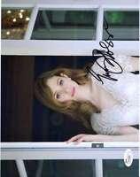 Emmy Rossum Shameless Jsa Coa Hand Signed 8x10 Photo Authenticated Autograph