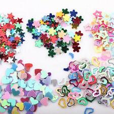 Wholesale 5000Pcs Acrylic Flower Star Heart Sticker Decal Glitter Nail Art New