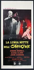 LOCANDINA, LA LUNGA NOTTE DELL'ORRORE The Plague of the Zombies HORROR POSTER  B