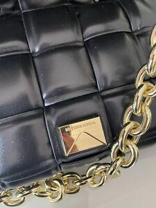 DESIGNER BOTEGGA STYLE BAG NAPPA LEATHER  BRABD NEW £80 Black