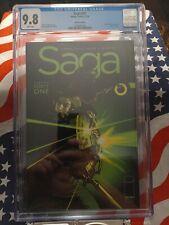 SAGA #41 CGC 9.8 Image Comics WHITE pages Brian K. Vaughn! Recalled 1st printing
