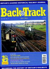 July Back Track Rail Transportation Magazines in English