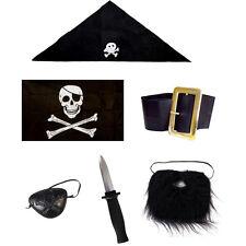 World Book Day Kids Pirate Fancy Dress Costume Accessories