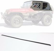 Rampage Frameless Top w/ Door Skins and Header Channel 92-95 Jeep Wrangler YJ