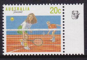 1990 Sports Series II MUH 20c Tennis - 1 Koala Reprint (Right)