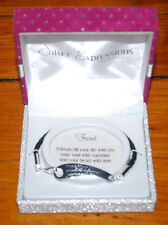 NEW Silver Expressions LA Rocks Fine Silver Plated Friend Friendship Bracelet