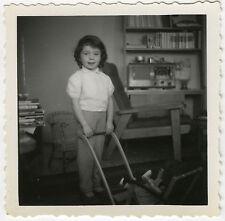 PHOTO ANCIENNE - ENFANT LANDAU POUPÉE RADIO - CHILD TOY DOLL - Vintage Snapshot