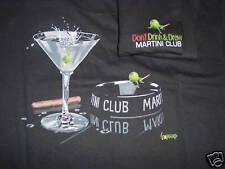 "*Michael Godard-""MARTINI CLUB"" Las Vegas-Cigar-Party-T-Shirt-Sizes L,XL,XXL*"