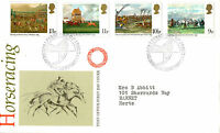 6 JUNE 1979 HORSERACING POST OFFICE FIRST DAY COVER EPSOM SURREY SHS