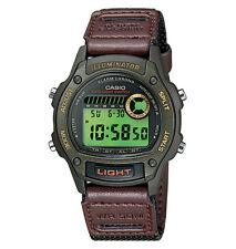 Casio W94HF-3AV, Digital Chronograph Watch, Nylon Band, Stopwatch, Alarm