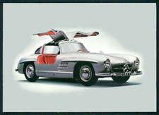AK AUTO CAR OFFIZ. KARTE MERCEDES BENZ MUSEUM 300 SL FLÜGELTÜRER FOTO-AK m1099