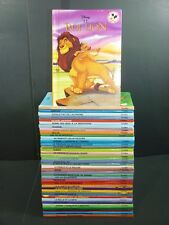 Huge Lot - 40 FRENCH Disney Illustrated Books Mickey Club du Livre FRANÇAIS