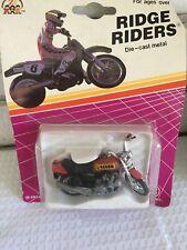 1 Ridge Riders Motorcycle Die Cast 1993 Zylmex Red 29240 New Old